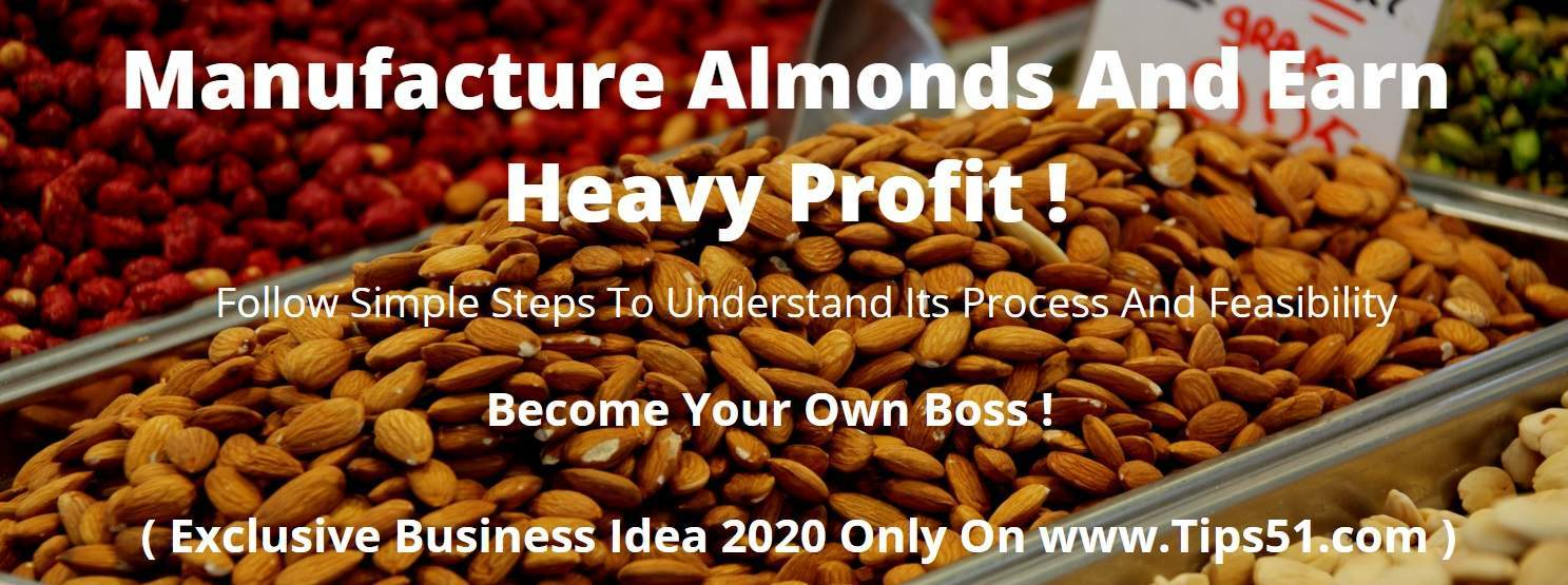 Almond Manufacturing Business Model 2020