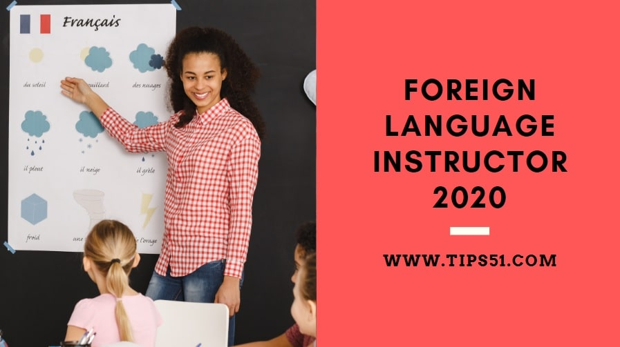 Foreign Language Instructor 2020